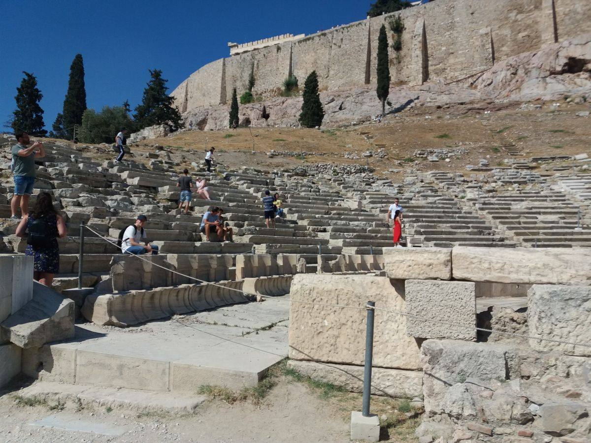 teatr dionizosa akropol Ateny
